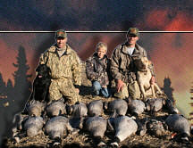 Waterfowl Hunting Alberta